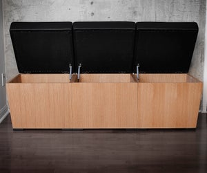 Image of Kees Bench and Stool System