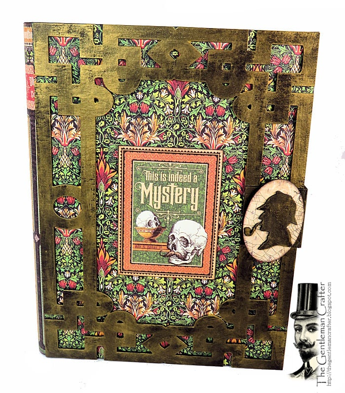 Image of The Case of the Dastardly Deeds Mystery Book KIt with paper