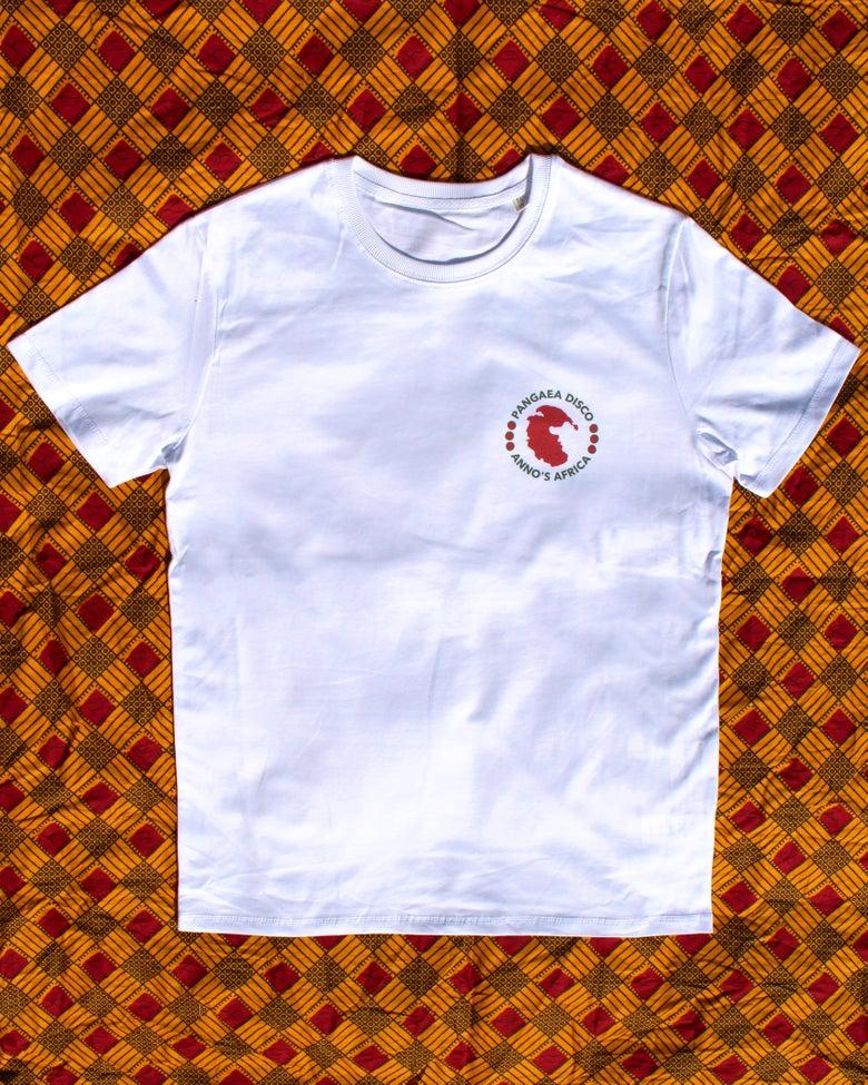 Image of PD & Anno's Africa White T Shirt (Medium - Unisex)