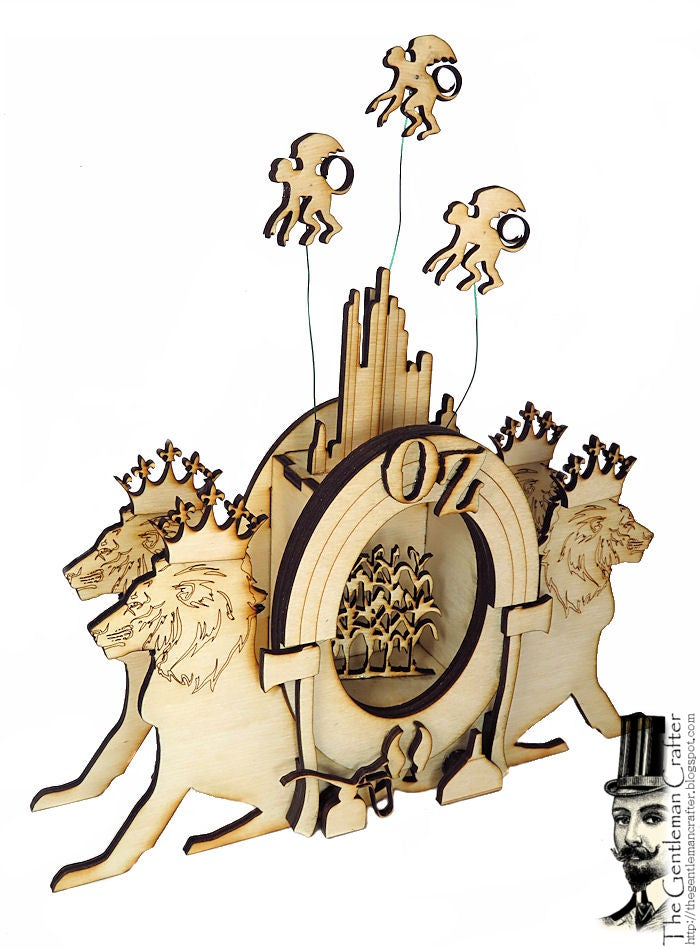 Image of Oz Vignette Wood Kit