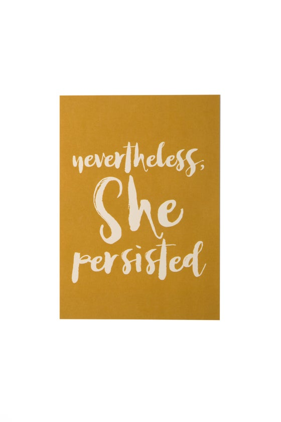 Image of Nevertheless, She Persisted 5x7 Art Print