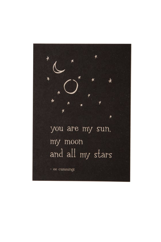 Image of You Are My Sun 5x7 Art Print