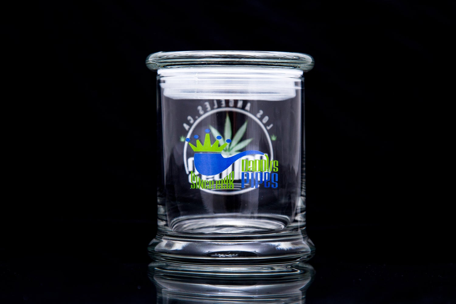 Image of Daddy's x 420 Science Pop-Top Stash Container