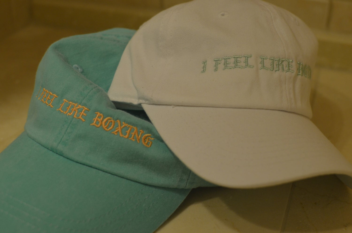 Image of i feel like boxing caps