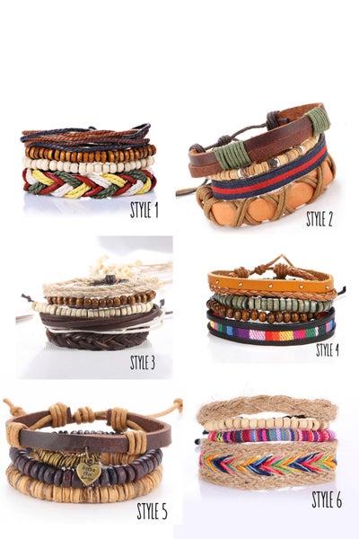 Image of Boho Layering Bracelets   6 Styles