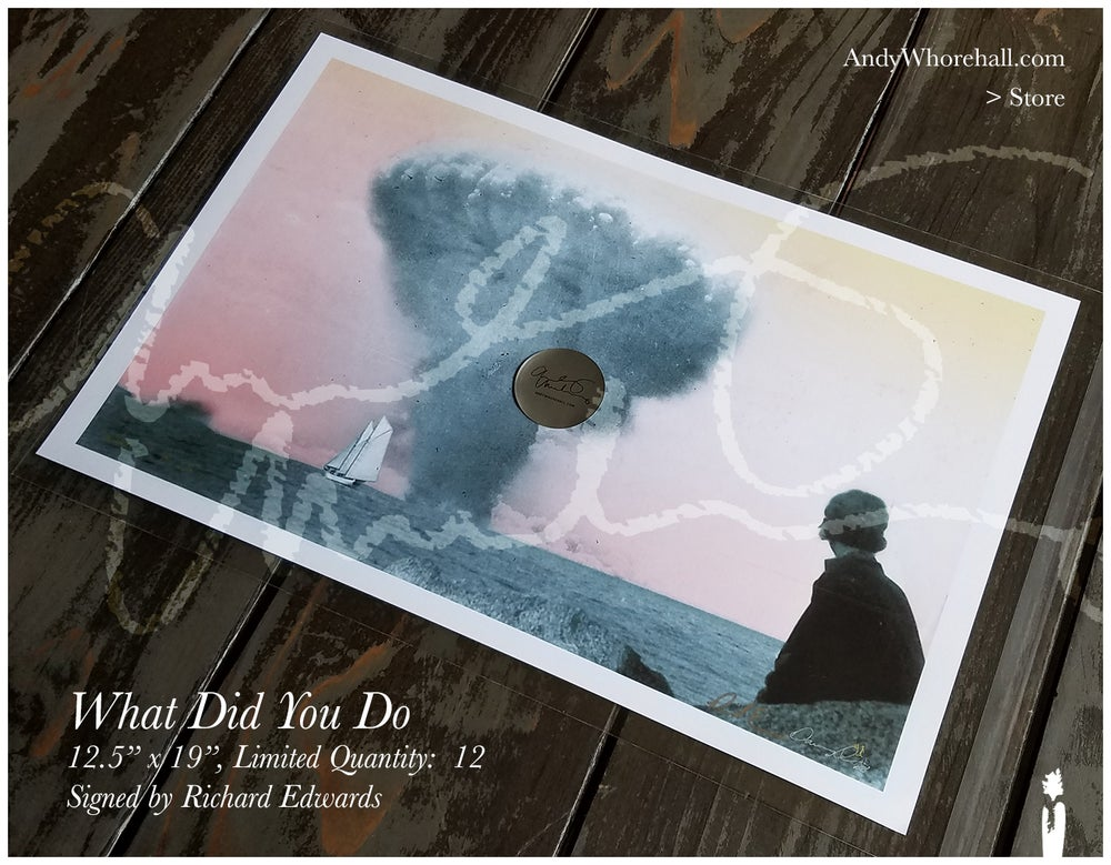 Image of What Did You Do — Signed by Richard Edwards — Ltd. Qty (12)
