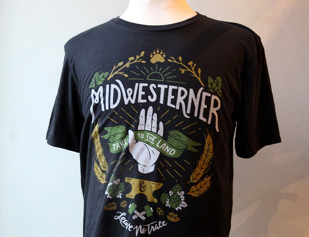 Image of Midwesterner Take to the Land Tshirt