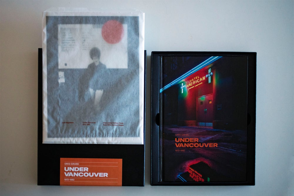 Image of Under Vancouver 1972-1982 Special Edition Box Set: Signed Book and Five Limited Edition Prints