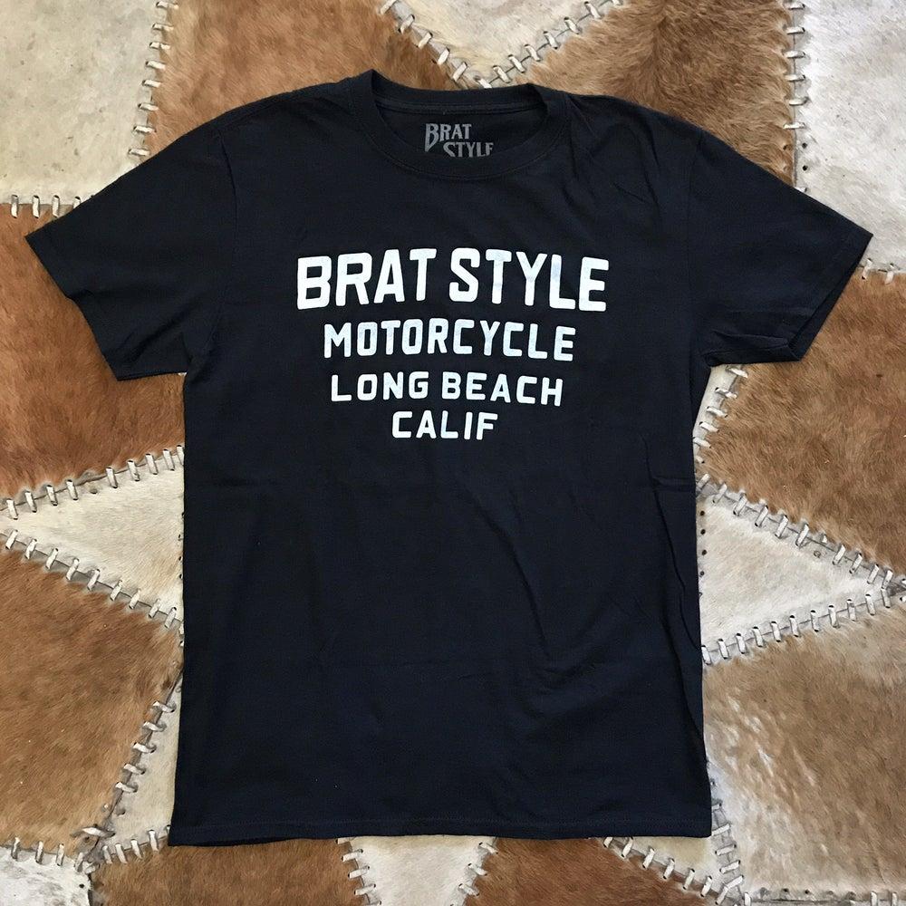 Image of BRATSTYLE LOGO T-SHIRT BLACK