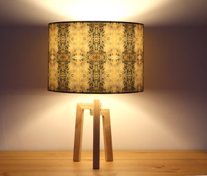 Image of 'Summer Butterflies' Drum Lampshade by Lily Greenwood