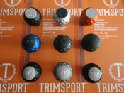 "Image of Trimsport Multi Colour LIMITED EDITION VW Golf Jetta Scirocco Mk1 Mk2 ""Golfball"" Dimpled Gearknob"