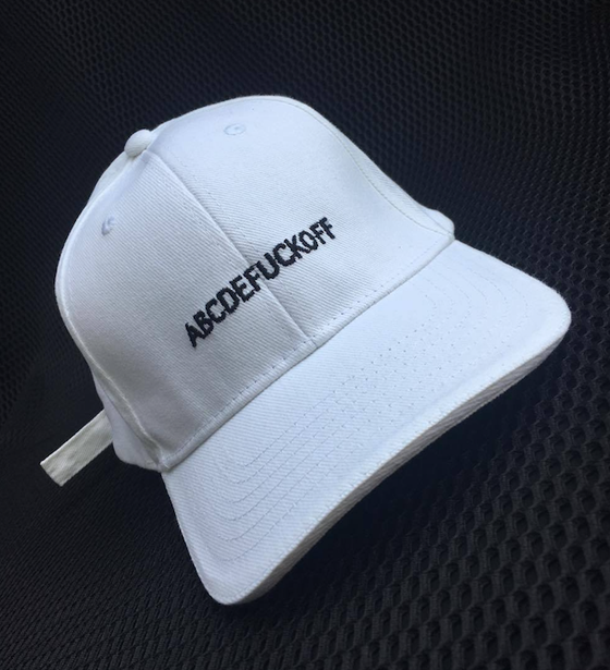 Image of CASQUETTE ABCDEFUCKOFF