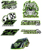 Image of LARGE FEGER Stickers