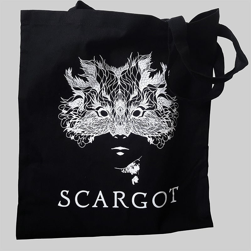 Image of The Nature - canvas tote bag - black