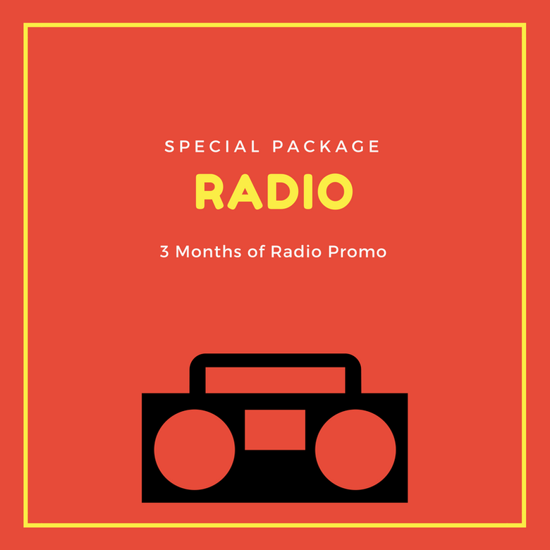Image of RADIO PROMO - 3 MONTHS PACKAGE