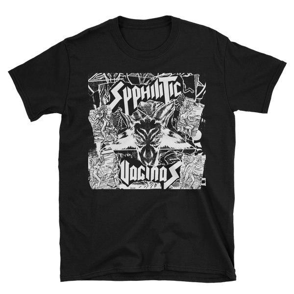 Image of Syphilitic Vaginas - Baphomet T-Shirt