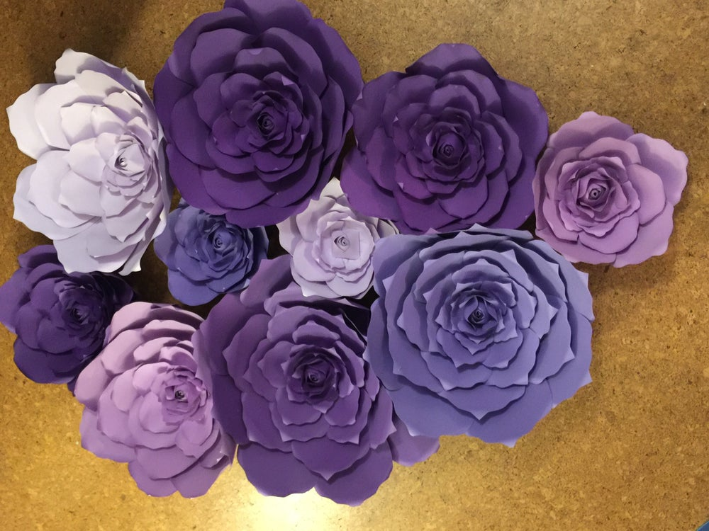 Image of 10 piece Flower Backdrop