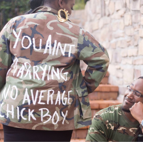 Image of Personalized Camo Jacket