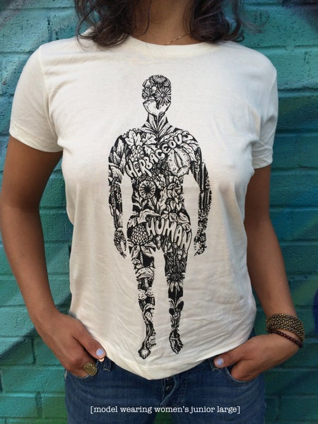 Image of HERBACEOUS HUMANOID T-SHIRT  [organic cotton]
