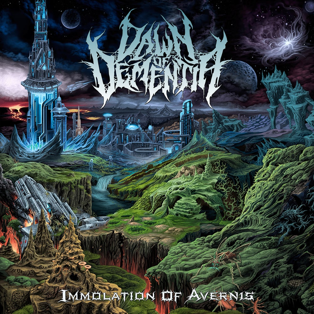 Image of Dawn Of Dementia - Immolation Of Avernis - Jewel Case CD