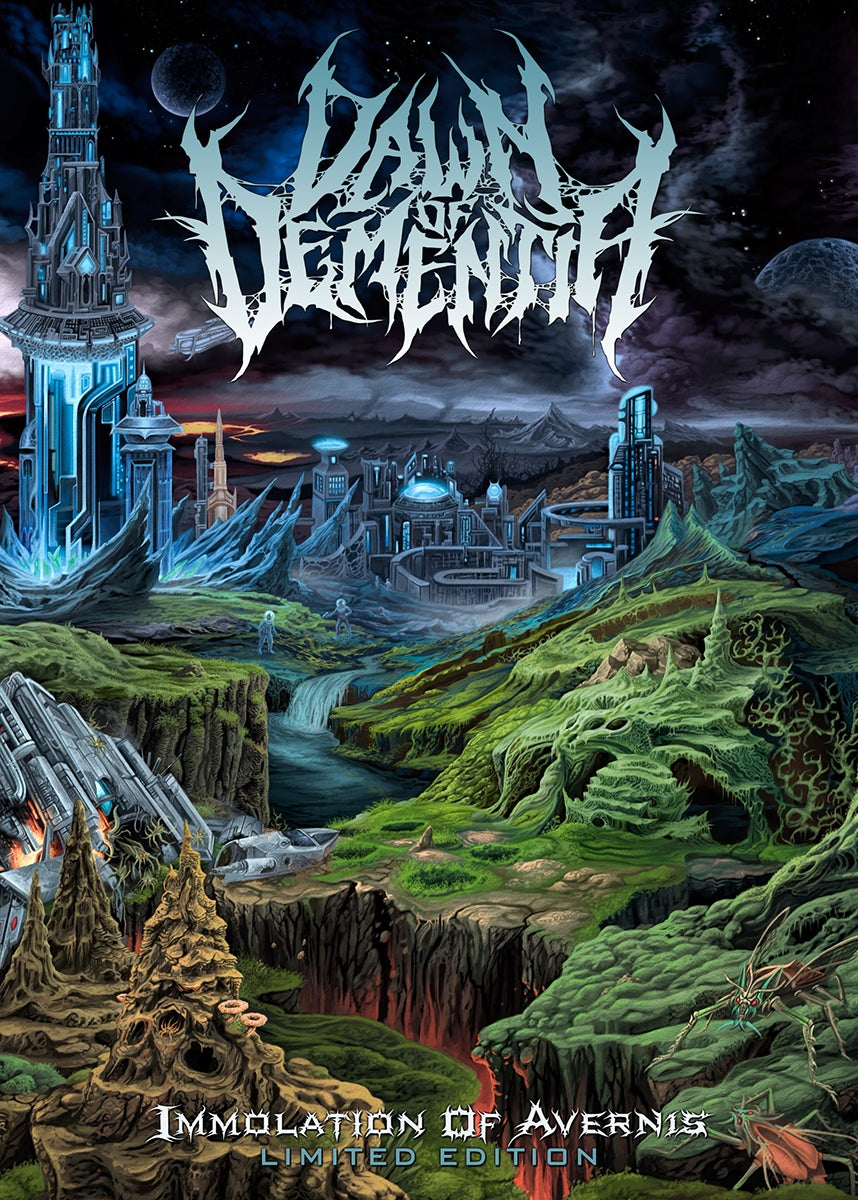 Image of Dawn Of Dementia - Immolation Of Avernis - Limited DVD Case Edition