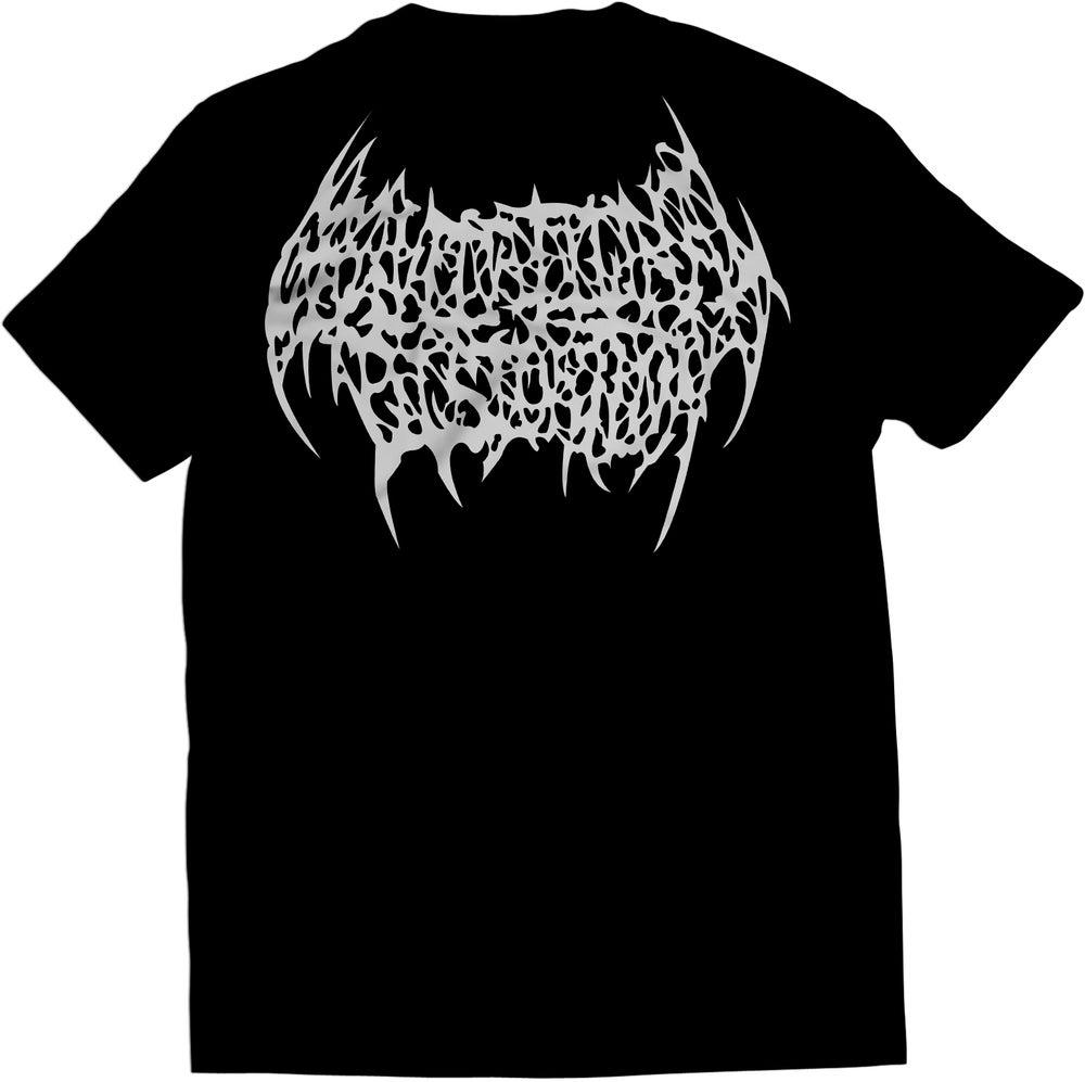 Image of Gravitational Distortion - Silver Logo T-Shirt