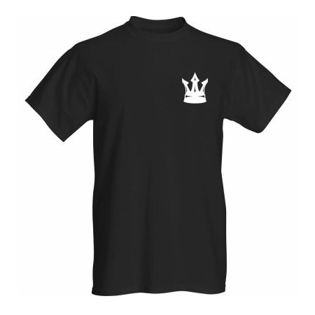 Image of Black Crown Breast T Shirt
