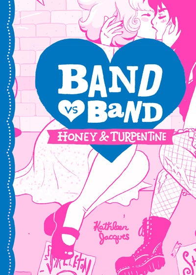"Image of ""Band Vs Band: Honey & Turpentine"" Limited Edition Riso Comic"