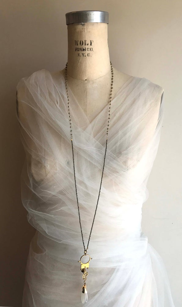 Image of Long Triple Layer with Tuareg Loop Necklace