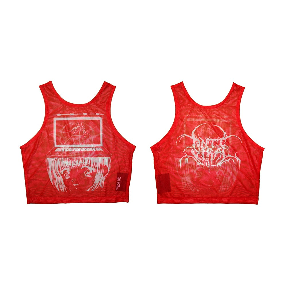 "Image of DVMVGE  ""Anti-Viral' by Yenta"" Crop Top (3 colors)"