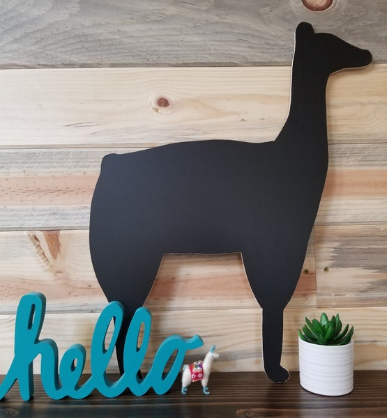 Image of Llama Chalkboard