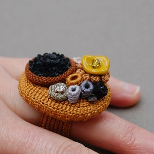 Image of Bouquet ring - Winter colours