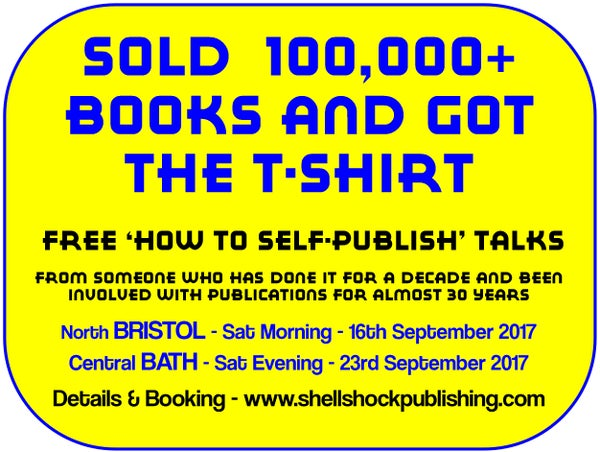 Image of FREE How to Self-Publish talks - 'Sold 100,000+ books & got the T-shirt'