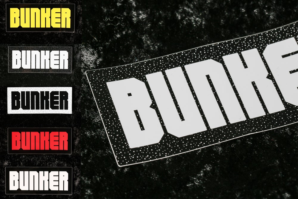 Image of Bunker Sticker Pack