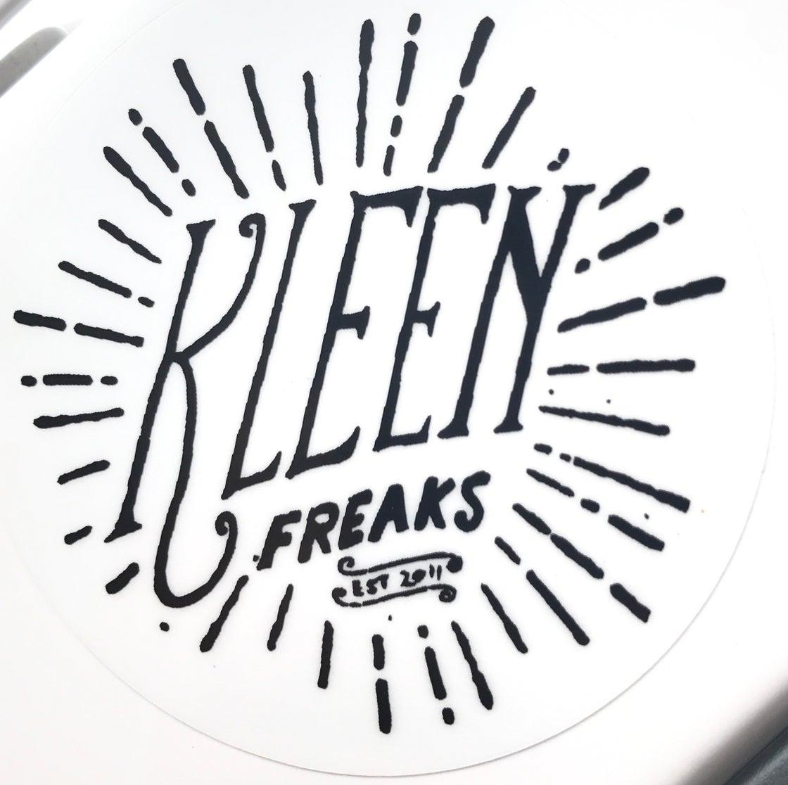 Image of NEW KF Circle Logo & Retro logo stickers
