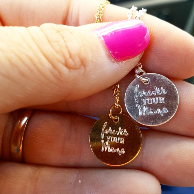 Image of Forever Your Mama Necklace