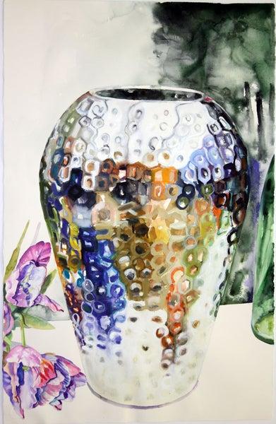 Image of Silver Vase