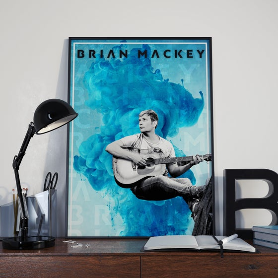Image of Brian Mackey - Blue Flood Poster
