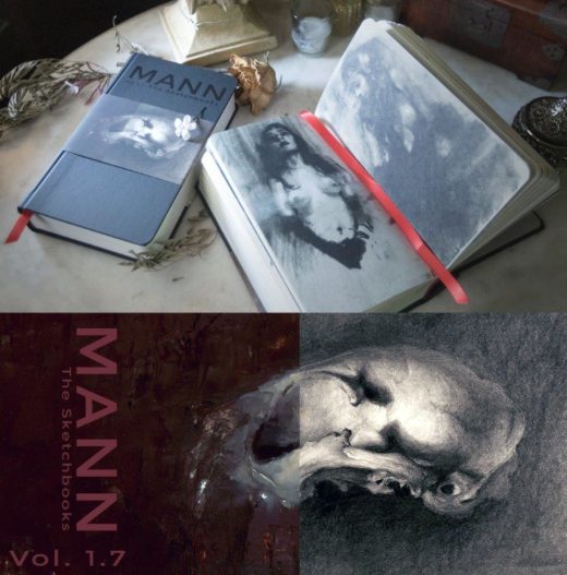 Image of MANN Vol. 1.7 The Sketchbooks