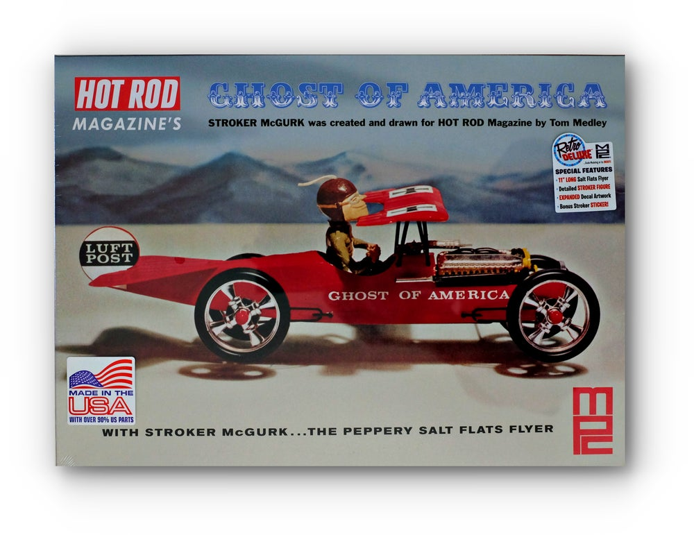 "Image of Stroker McGurk ""Ghost of America"" Model Kit"
