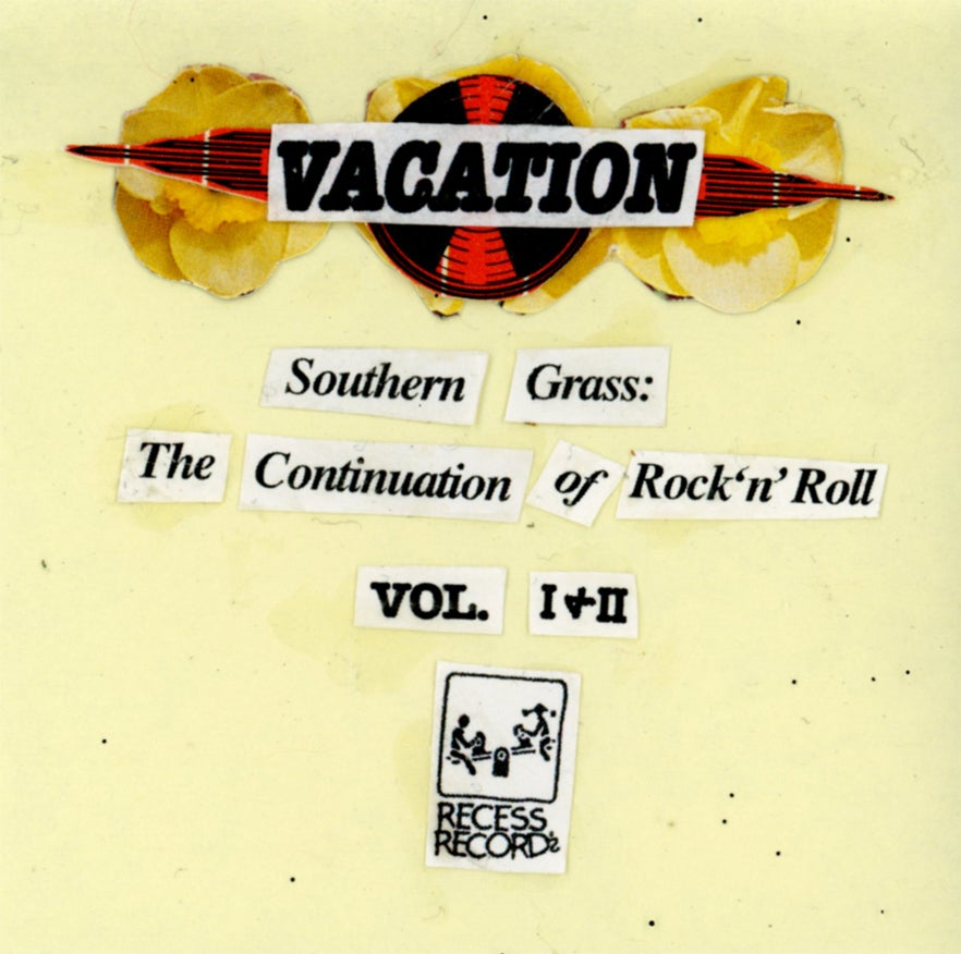 Image of VACATION-Southern Grass:The Continuation of Rock n' Roll Vol.1 & Vol.2 LP's