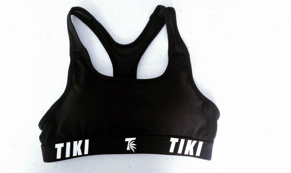 Image of Tiki Palm Leaf Classic Compression 3m Sports Bra