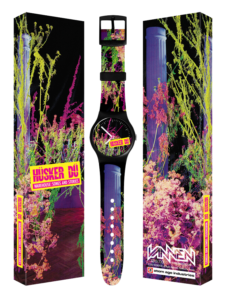 Image of HÜSKER DÜ WAREHOUSE: SONGS AND STORIES LIMITED EDITION VANNEN ARTIST WATCH