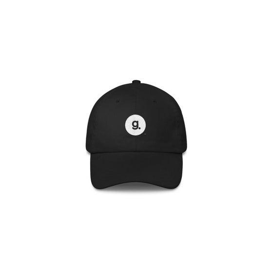 Image of g. logo dad cap - black