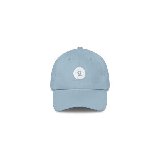 Image of g. logo dad cap - light blue