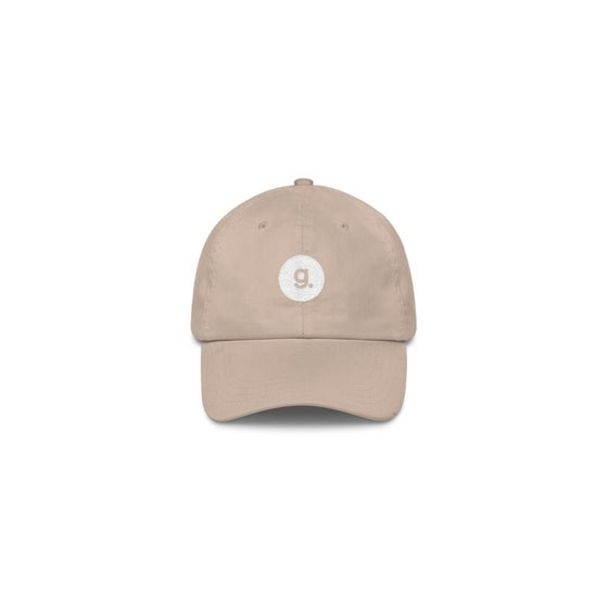 Image of g. logo dad cap - stone