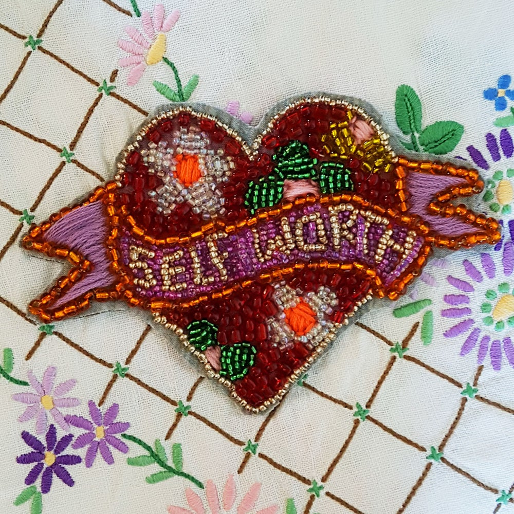 Image of 'SELF WORTH' PATCH
