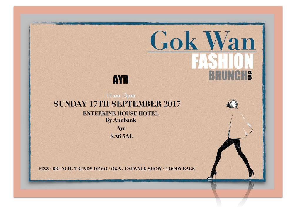 Image of Fashion Brunch Club - Enterkine House, Ayrshire  Sunday 17th September 2017