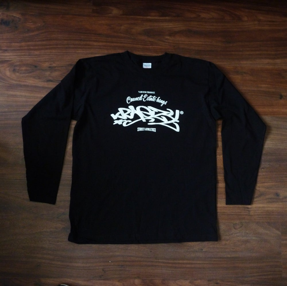 Image of KRAEZY | 2017 C.E.K BLK LONG SLEEVE