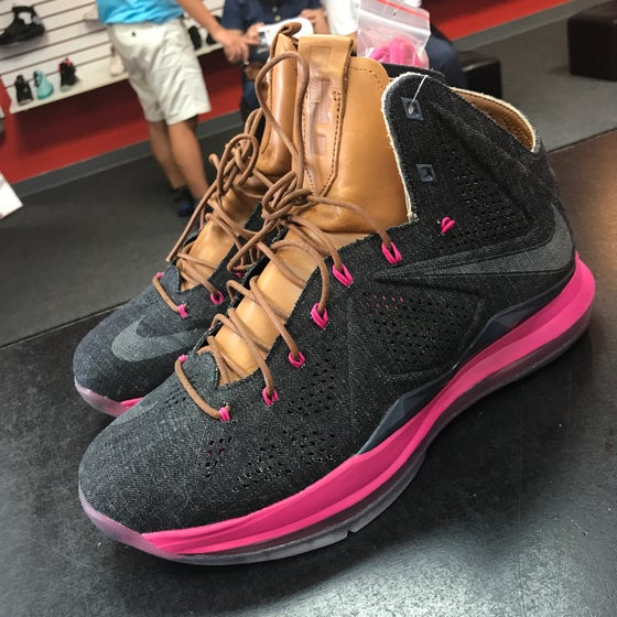 Image of Lebron 10 EXT - Denim QS - Size 10